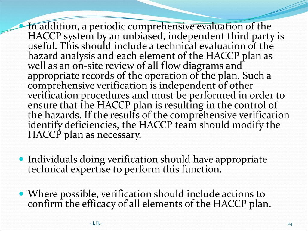 haccp food safety manual pdf
