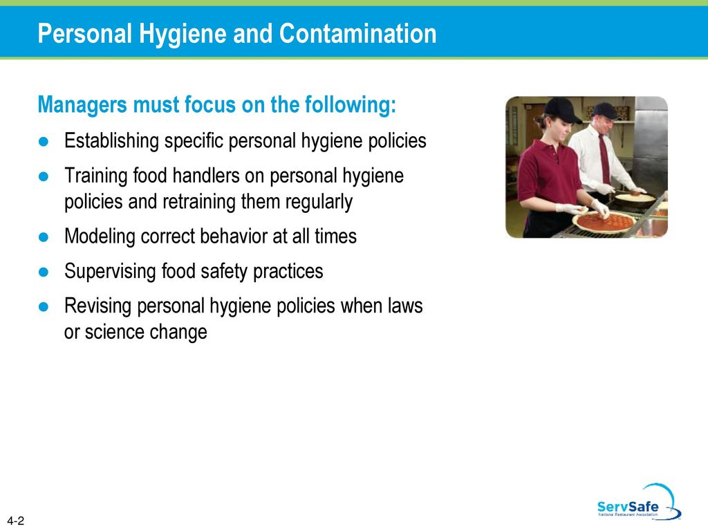 Personal Hygiene and Contamination - ppt download