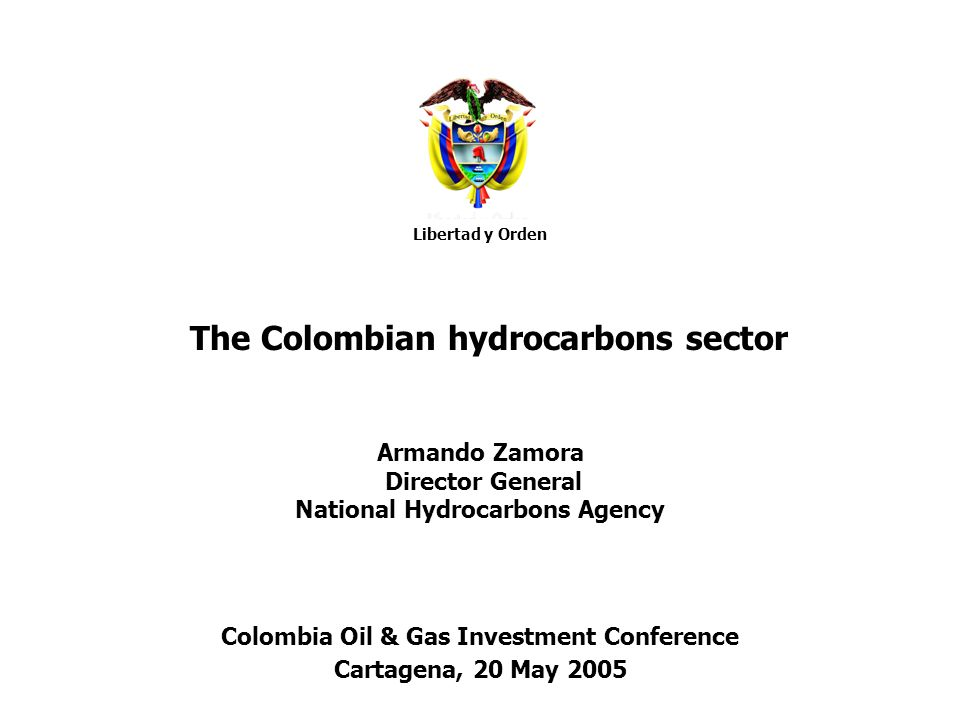 Colombia Oil & Gas Investment Conference