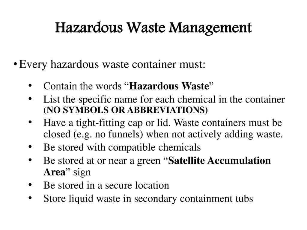 Laboratory safety awareness training ppt download 35 hazardous waste management biocorpaavc Image collections