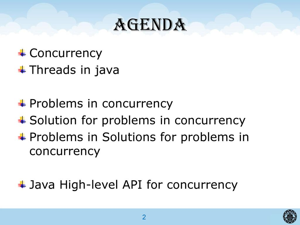 Concurrency in java tutorial choice image any tutorial examples advanced programming in java ppt download agenda concurrency threads in java problems in concurrency baditri choice baditri Gallery