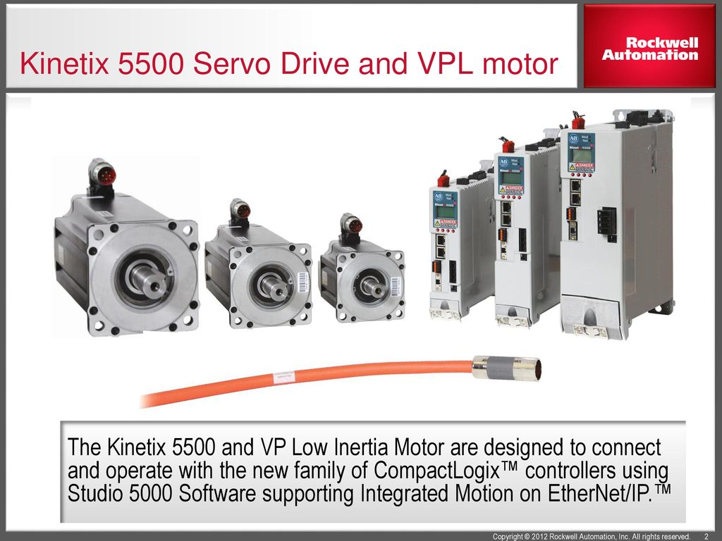 Single cable motion solution ppt download for Integrated servo motor and drive