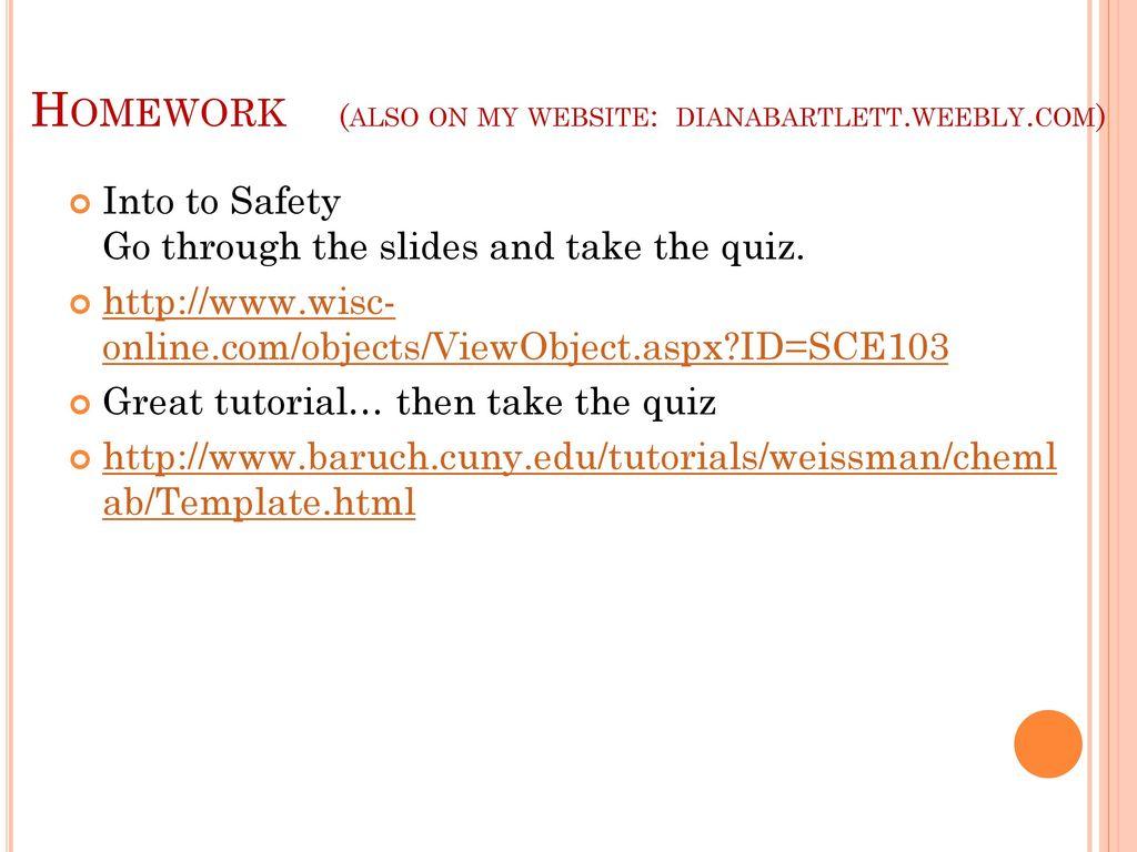 Safety in the chemistry laboratory ppt download 19 homework baditri Images