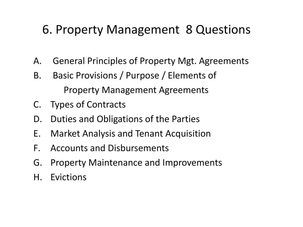 Alabama Real Estate Exam Property Management ppt download