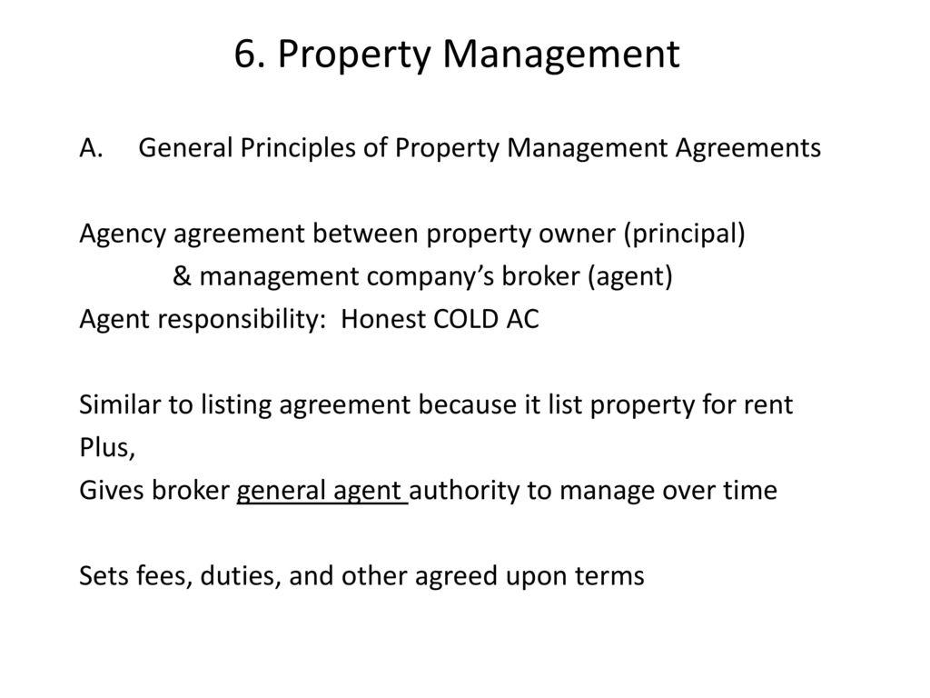 Charmant Property Management Agreements Bilder - Bilder für das ...