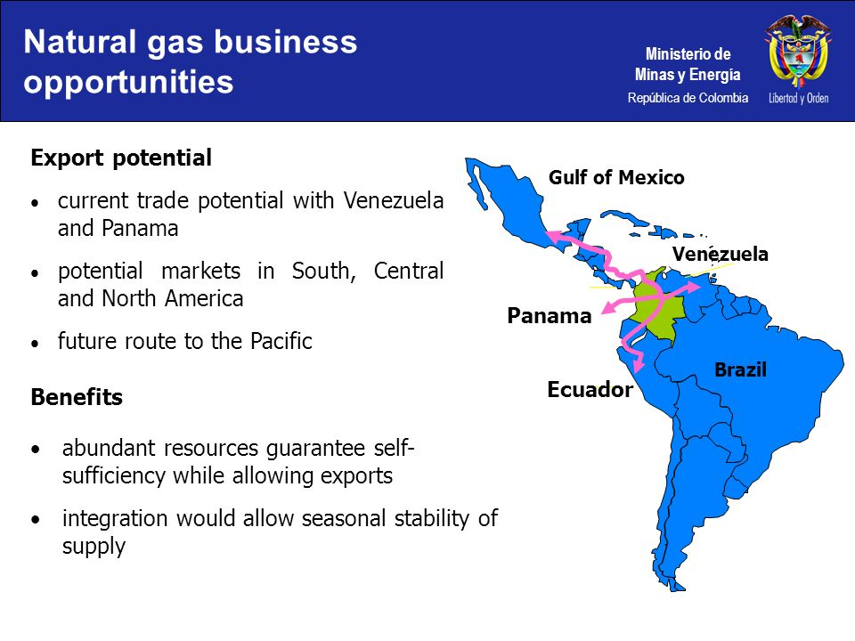 Natural gas business opportunities