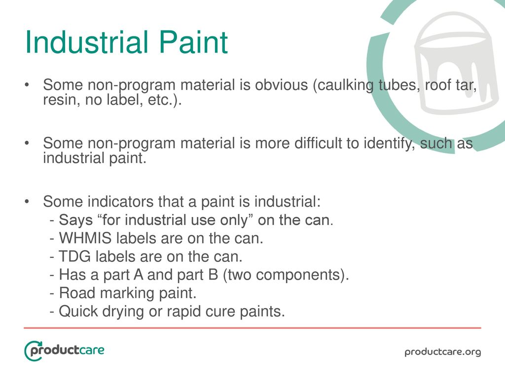 Paint stewardship in canada information training tutorial ppt 17 industrial biocorpaavc Choice Image