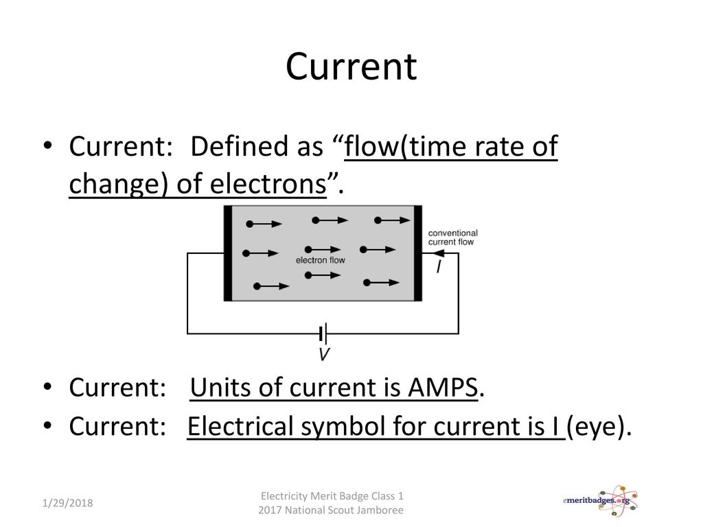 Electricity electronics merit badge ppt download 7 current buycottarizona Images