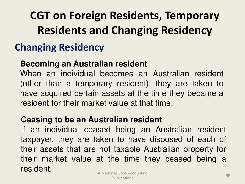 how to become australian tax resident