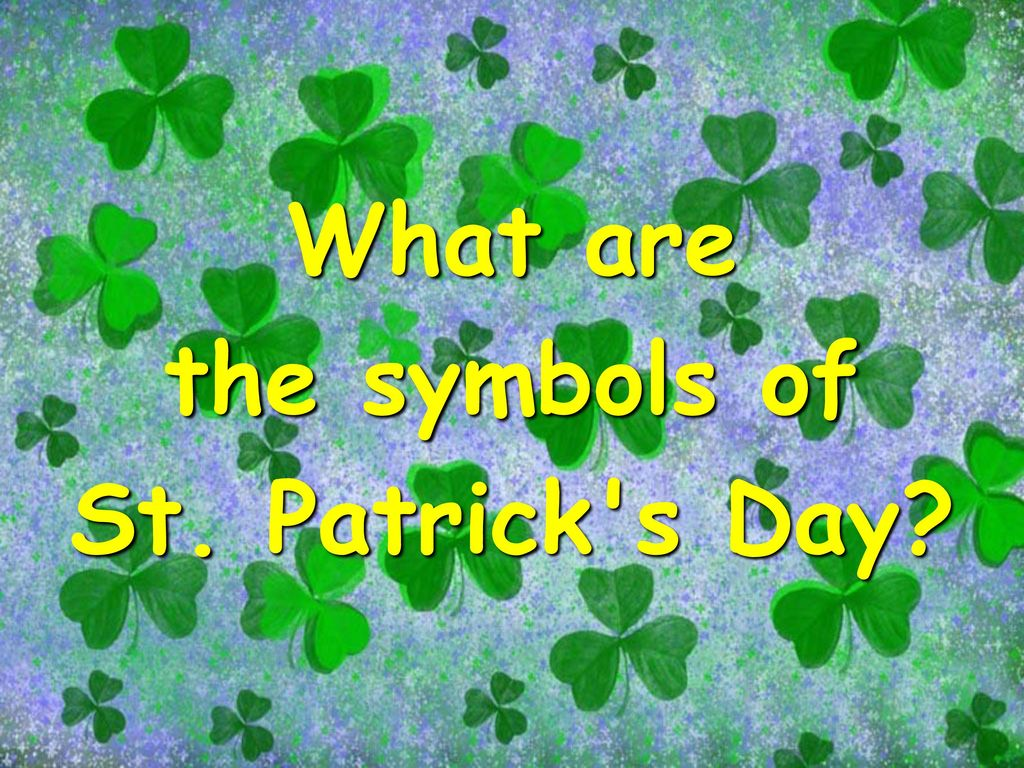 What is the symbol of green gallery symbol and sign ideas st patricks day march ppt download 13 what are the symbols buycottarizona biocorpaavc