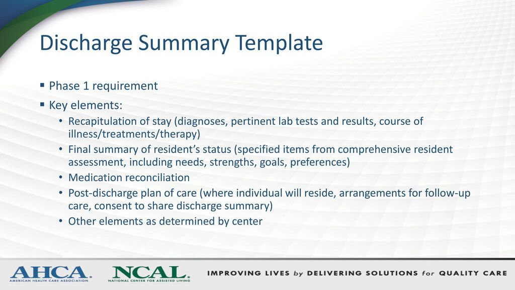 Charming Discharge Summary Dictation Template Gallery  Example