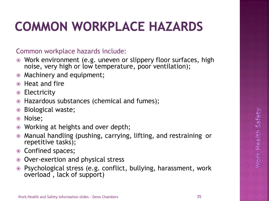 hazards in high temperature work environment Health to their employees if they are exposed to unreasonably high  temperatures at work  environmental factors (such as humidity and sources of  heat in the.