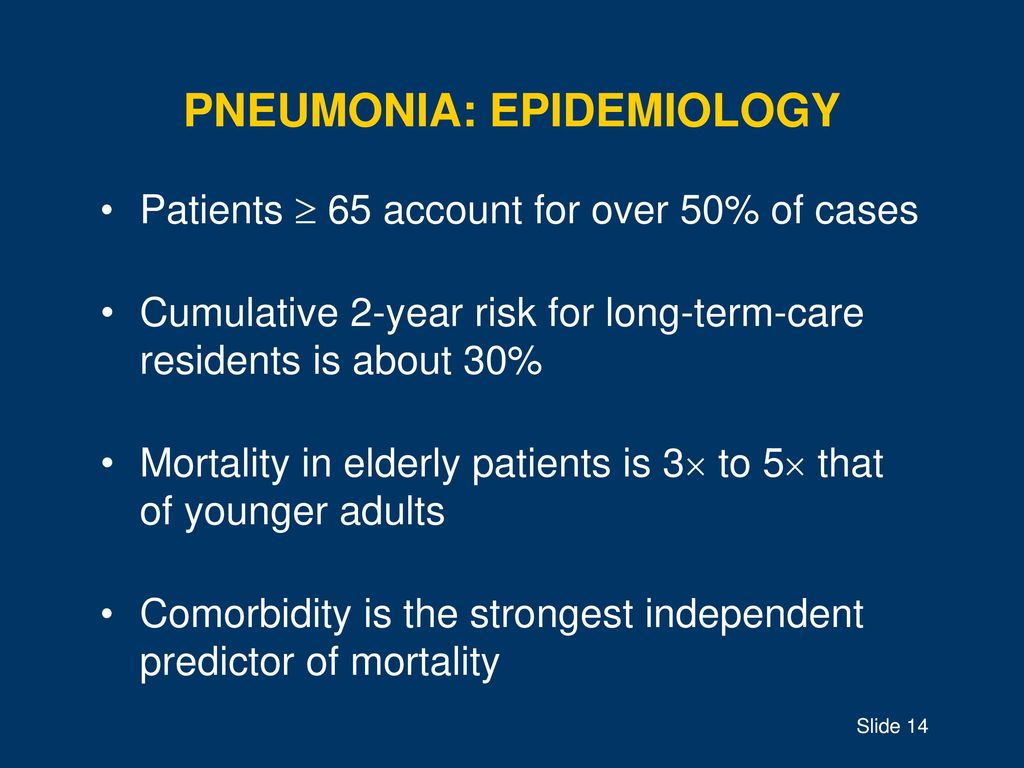 strep pneumonia in older adults