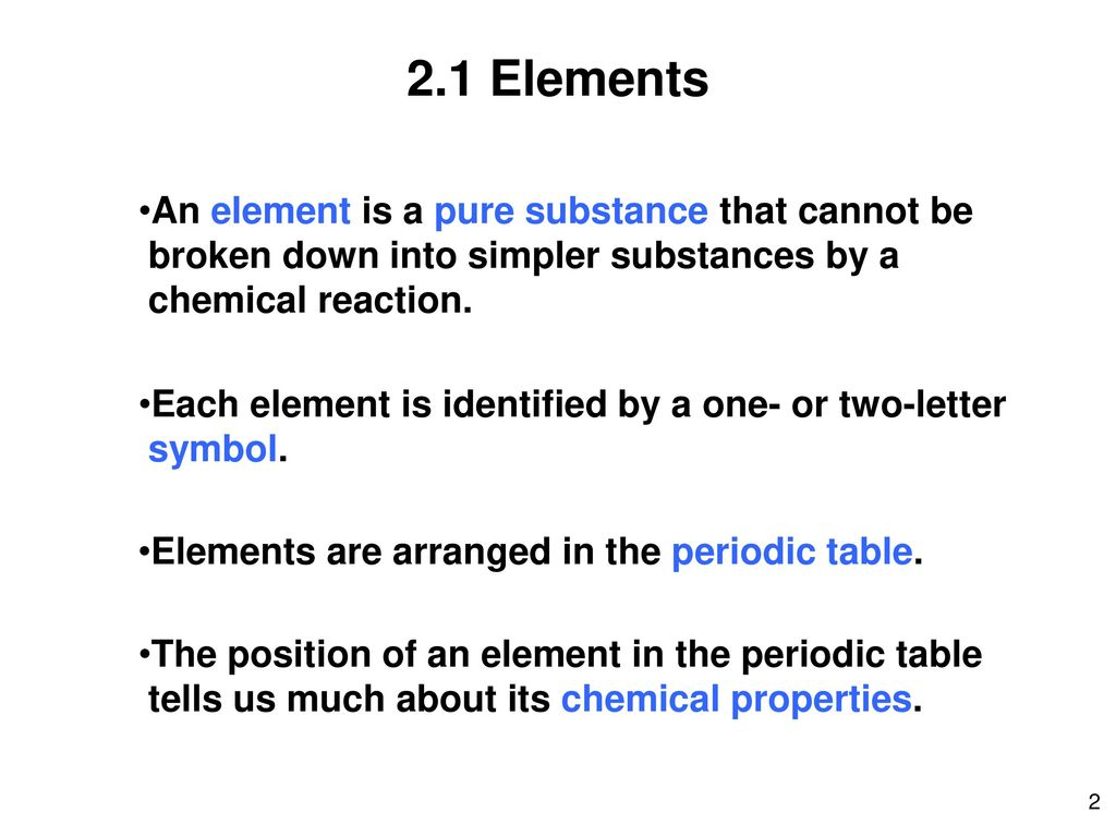 University of louisiana at lafayette ppt download 21 elements an element is a pure substance that cannot be biocorpaavc