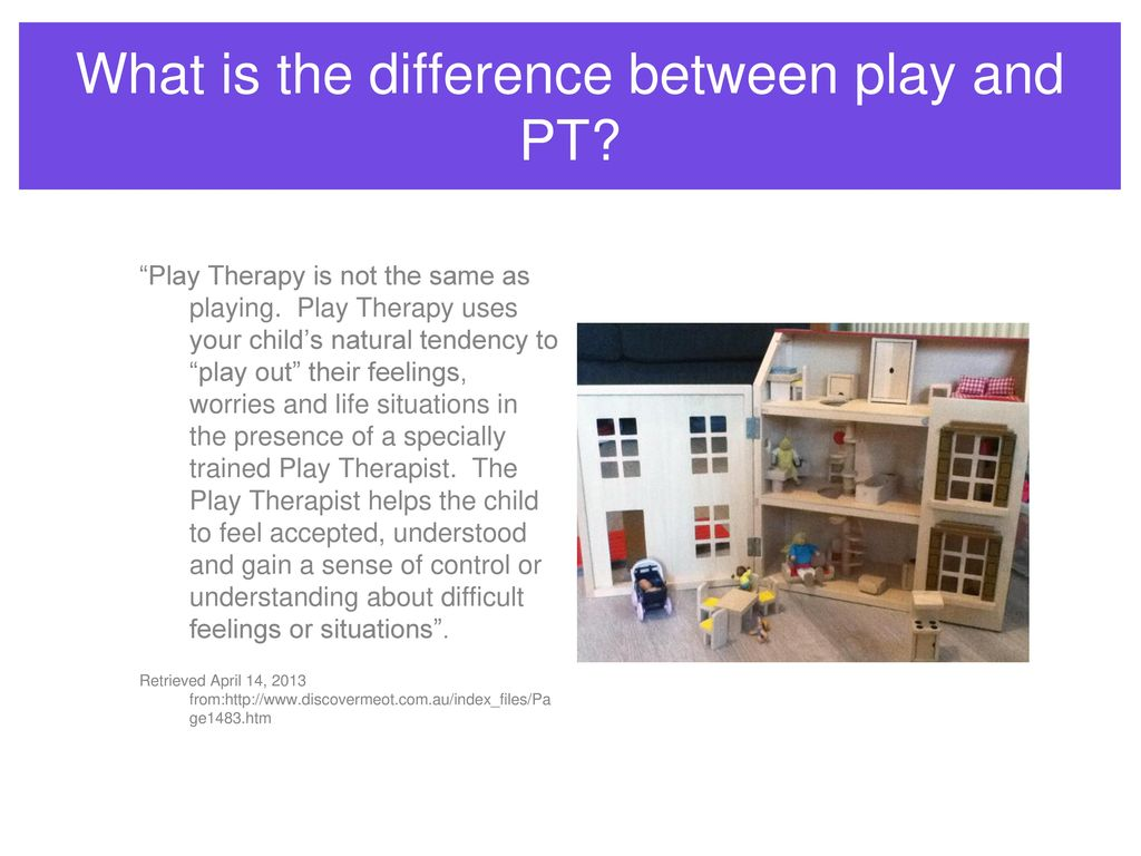 Introduction to play therapy day one ppt download what is the difference between play and pt 1betcityfo Gallery