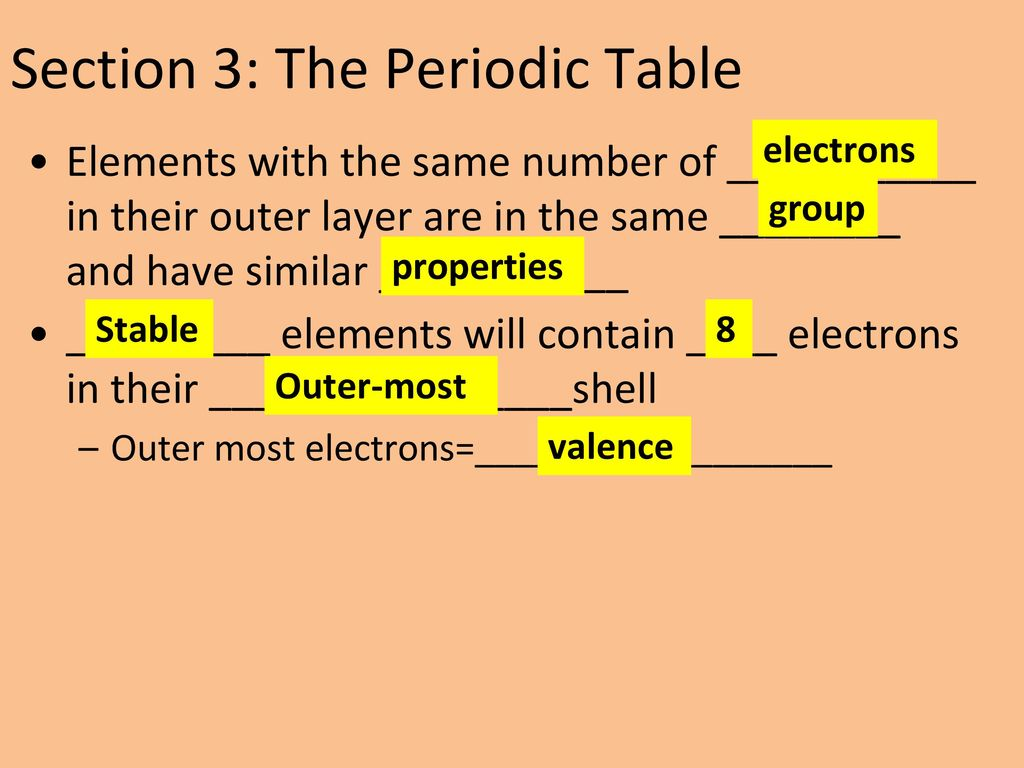 xenon as the most stable elements on the periodic table Learn how to state the modern periodic law and the modern periodic table with byju's the modern periodic  chemistry article modern periodic  stable elements.