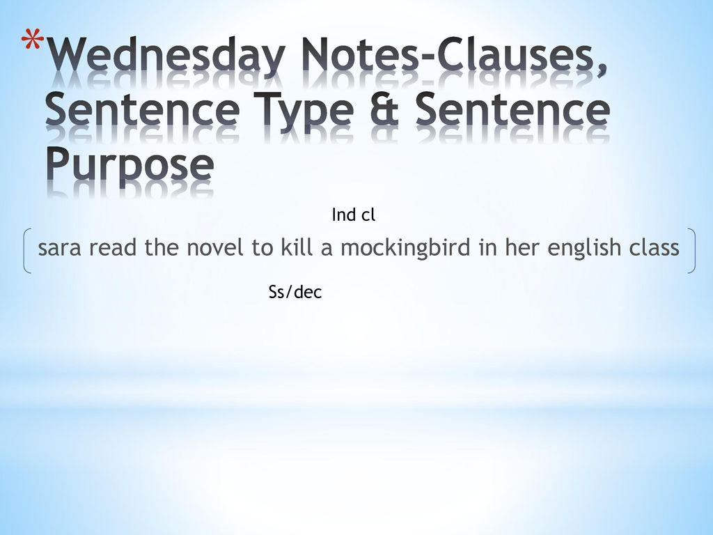 sara read the novel to kill a mockingbird in her english class