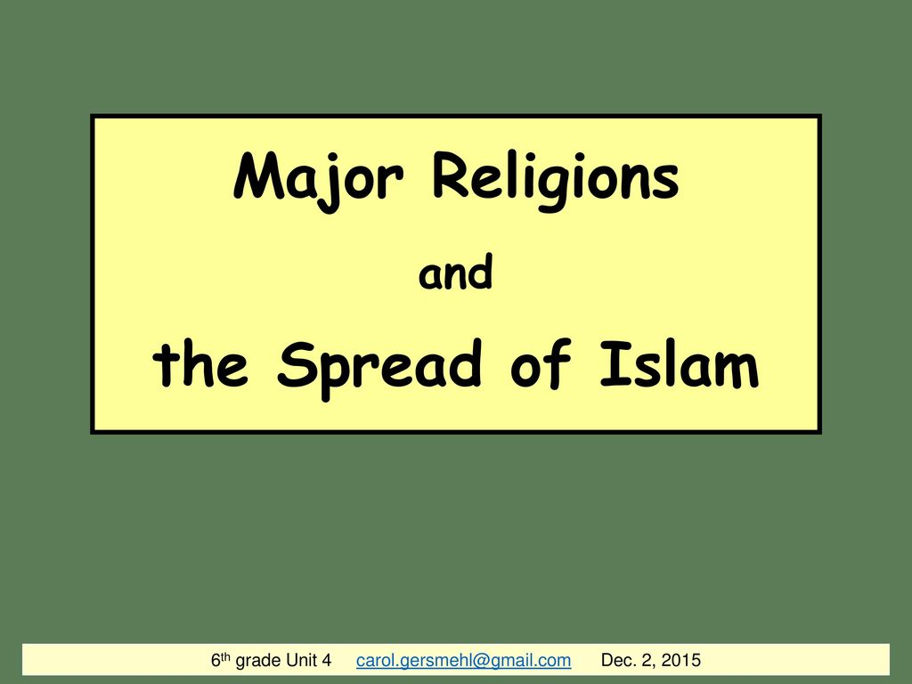 6th grade unit 4 dec 2 2015 major religions and the spread of 6th grade unit 4 carolrsmehlgmail dec 2 2015 ccuart Choice Image