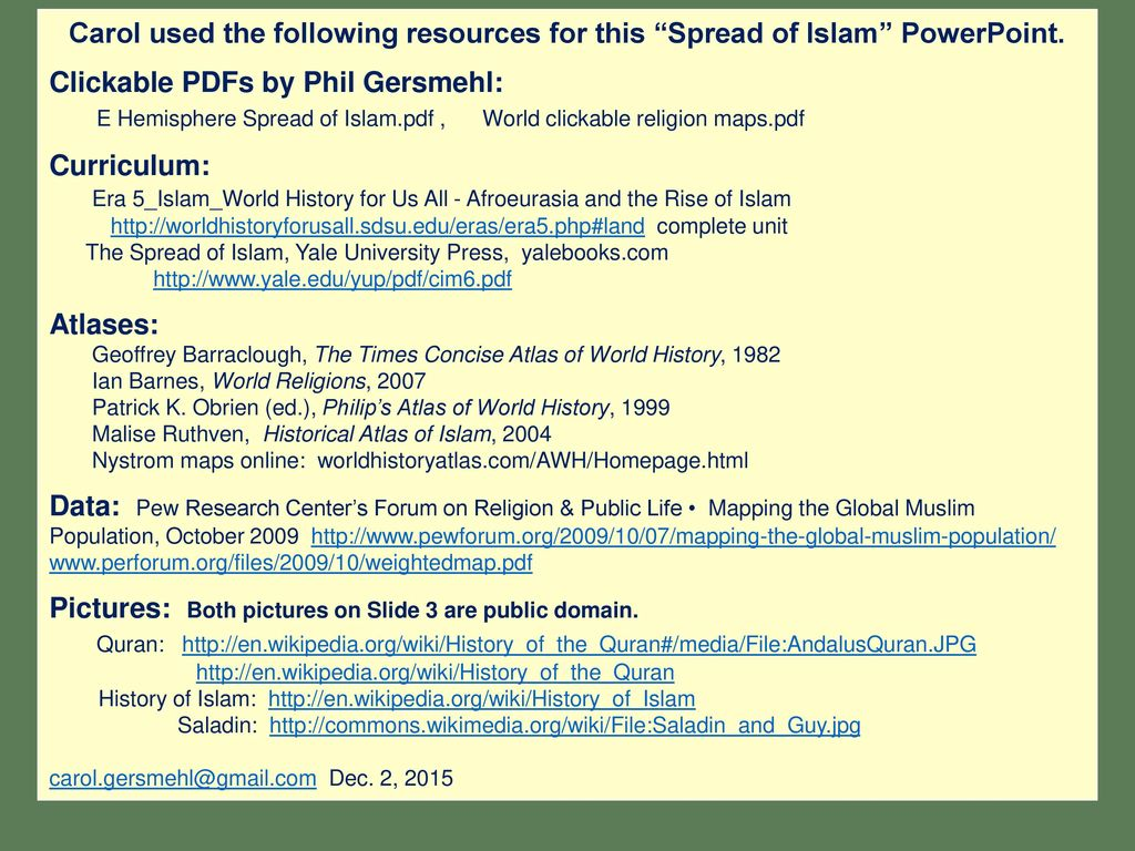 6th grade unit 4 dec 2 2015 major religions and the spread of clickable pdfs by phil gersmehl ccuart Choice Image