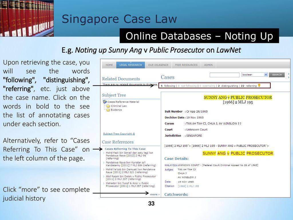 case details online
