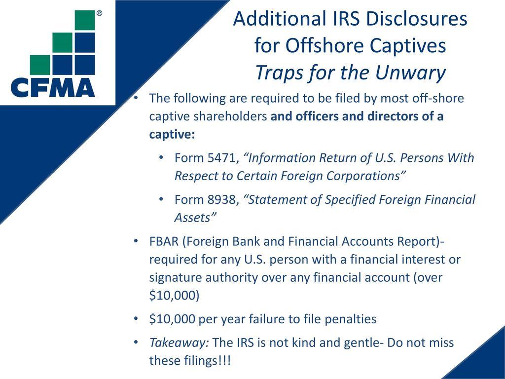 Alternative risk finance ppt download additional irs disclosures falaconquin
