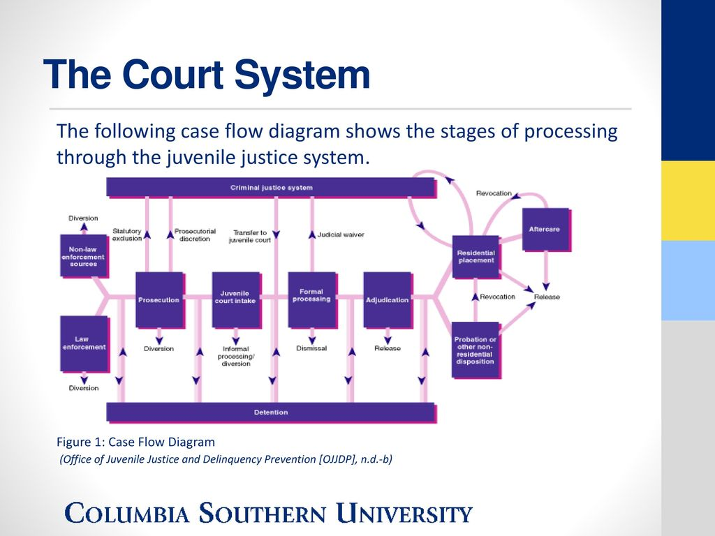 the juvenile justice system of the The juvenile court system was created specifically to deal with children and was established in chicago over one hundred years ago it was.