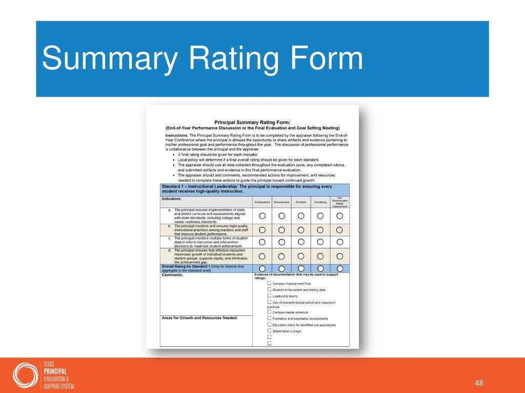 Standard form ppt gallery standard form examples t pess principal orientation training ppt download texas principal evaluation ppt falaconquin falaconquin