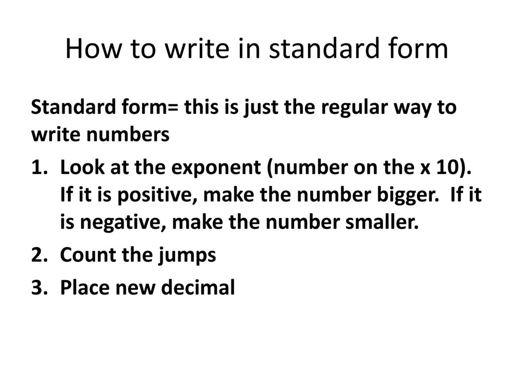 Scientific measurement ppt download how to write in standard form falaconquin