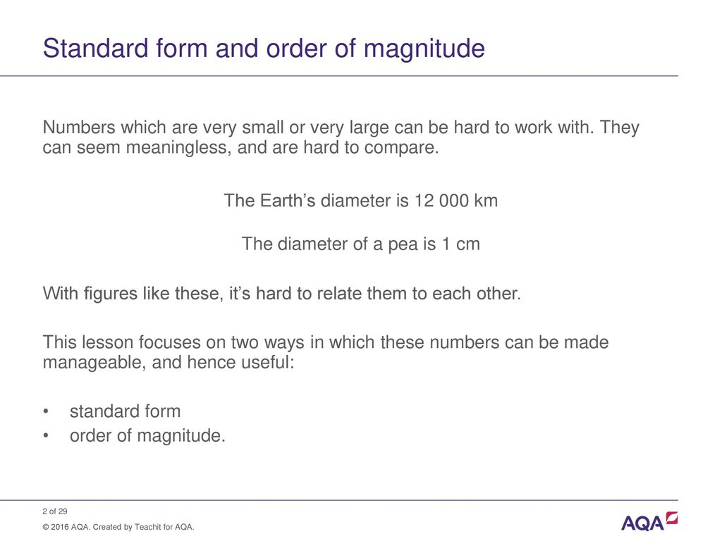 How do u write numbers in standard form image collections standard standard form and order of magnitude calculations ppt download 2 standard falaconquin falaconquin