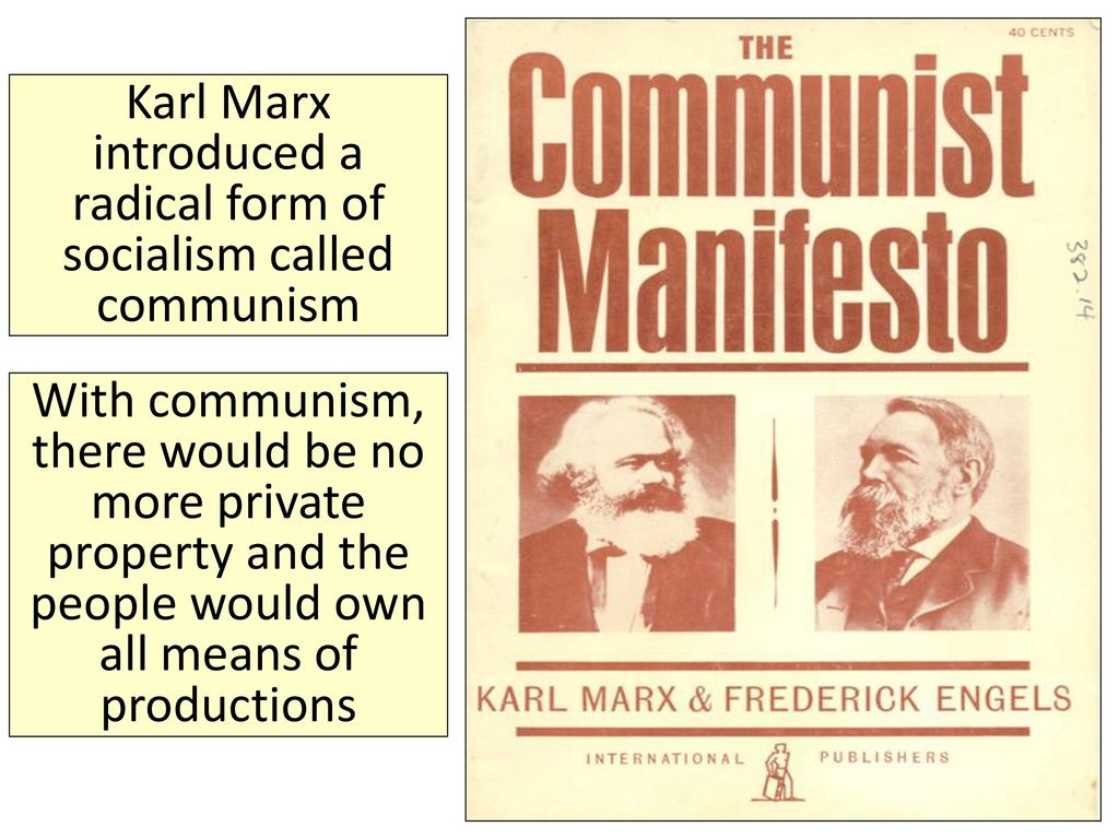 private property and communism pdf