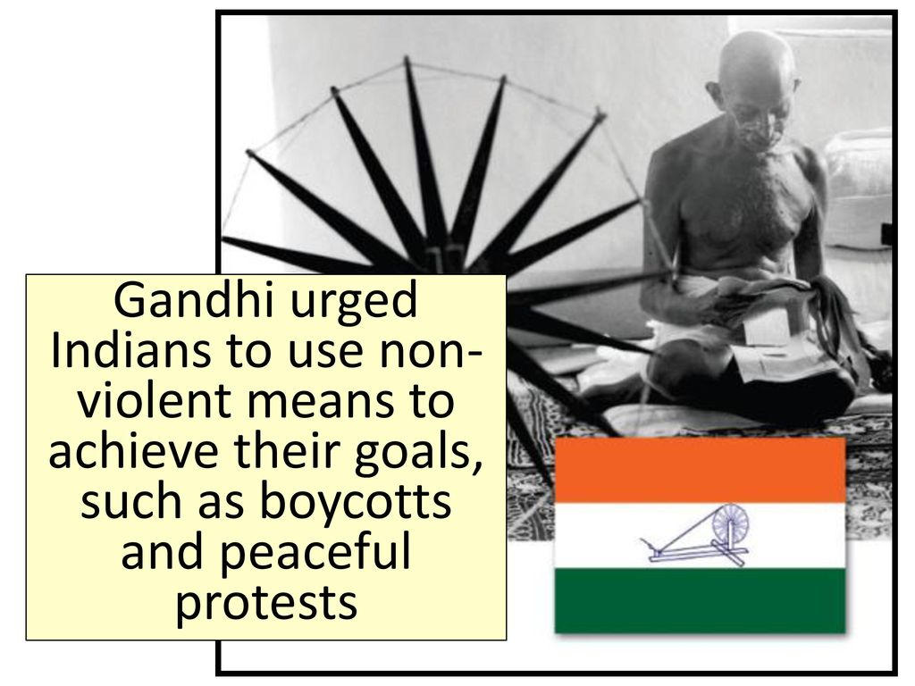 gandhi and non violent protest essay Non-violent protesting never seemed to be the right course of action until the ideology of mohandas gandhi spread and influenced successful protests across the world non-violent methods were successfully used, most notably, by mohandas gandhi, martin luther king, jr, and nelson mandela.
