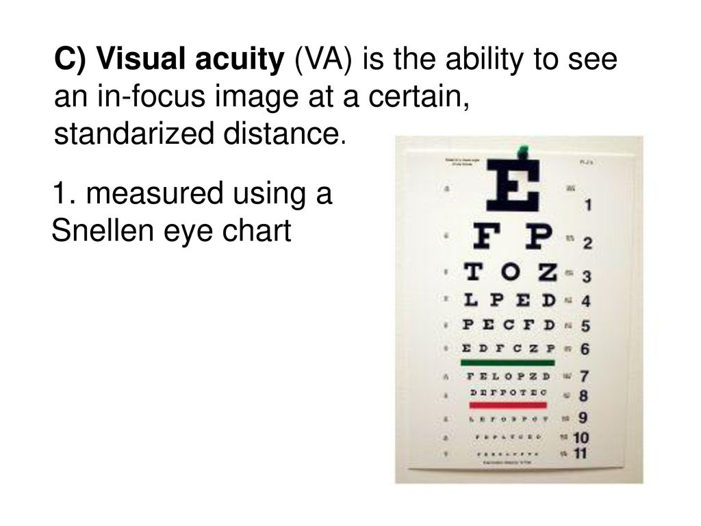 Snellen eye chart results gallery free any chart examples medical eye chart choice image free any chart examples special senses adapted from essentials of human geenschuldenfo Choice Image