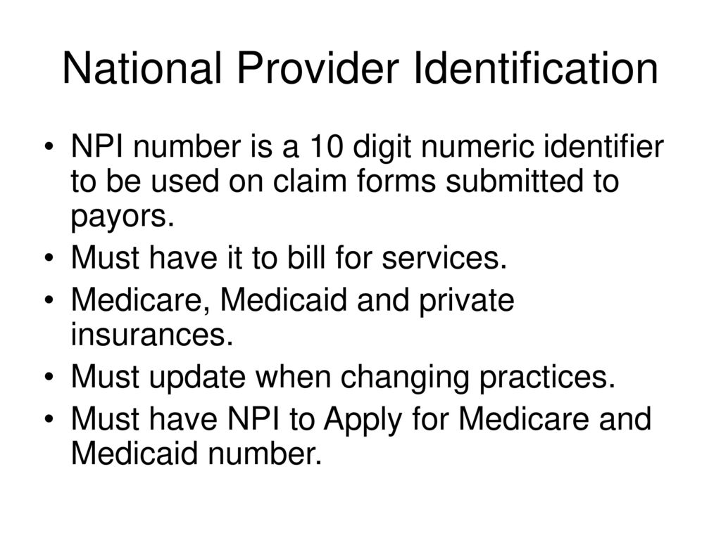 Transitions to practice ppt download 10 national provider identification 1betcityfo Images