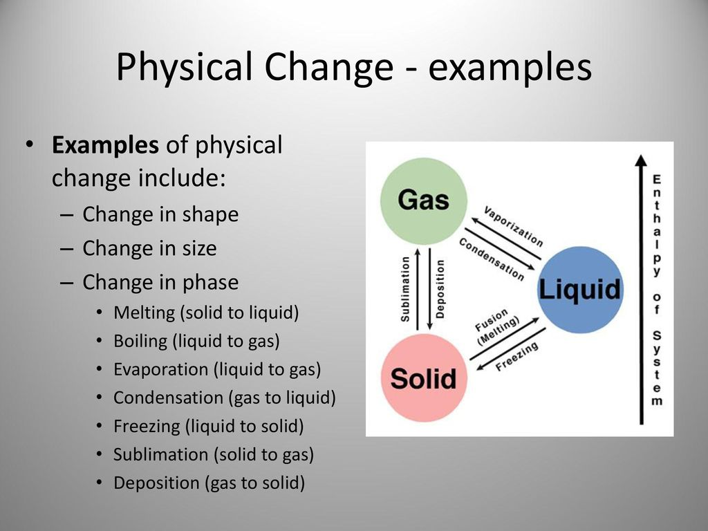 Chemical And Physical Changes Ppt Download