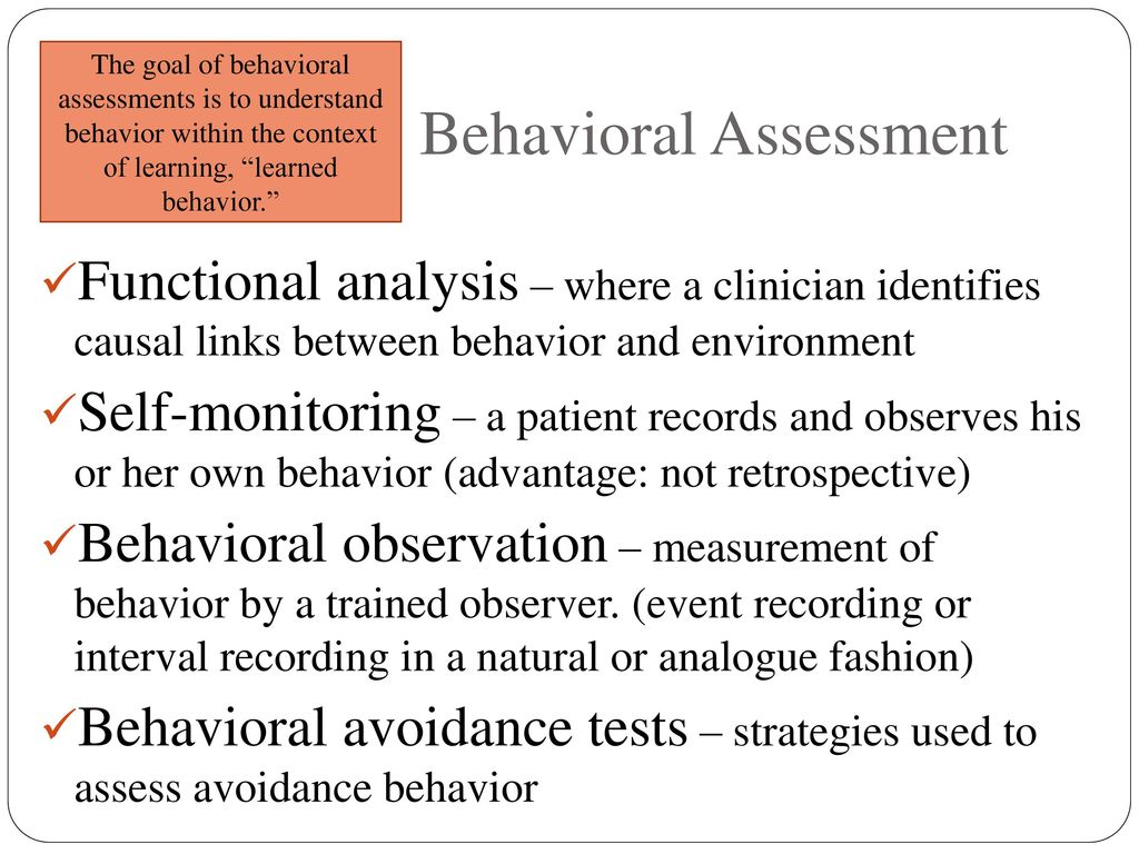 An introduction to the analysis of behavior observation