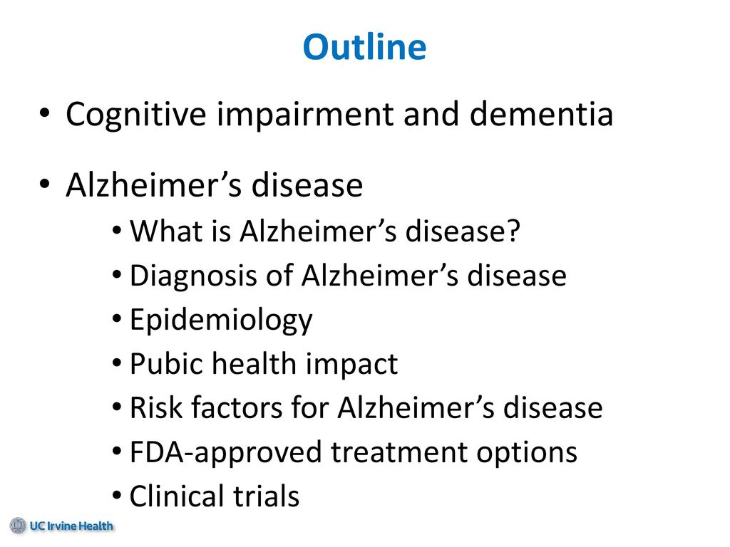 Alzheimer's disease: Interventions and New Findings - ppt ...