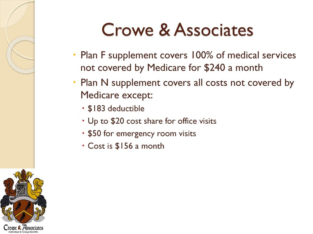 Crowe & Associates Lowering Employers\' Insurance Cost With Medicare ...