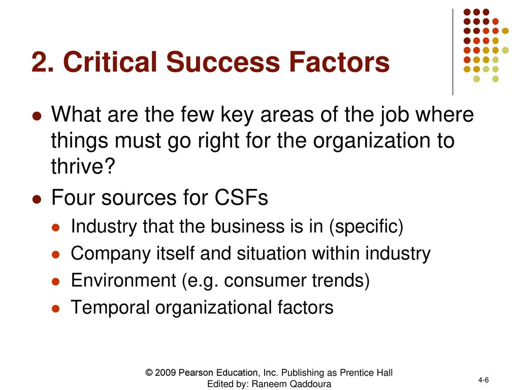 'Critical success factors' powerpoint templates ppt slides images graphics and themes