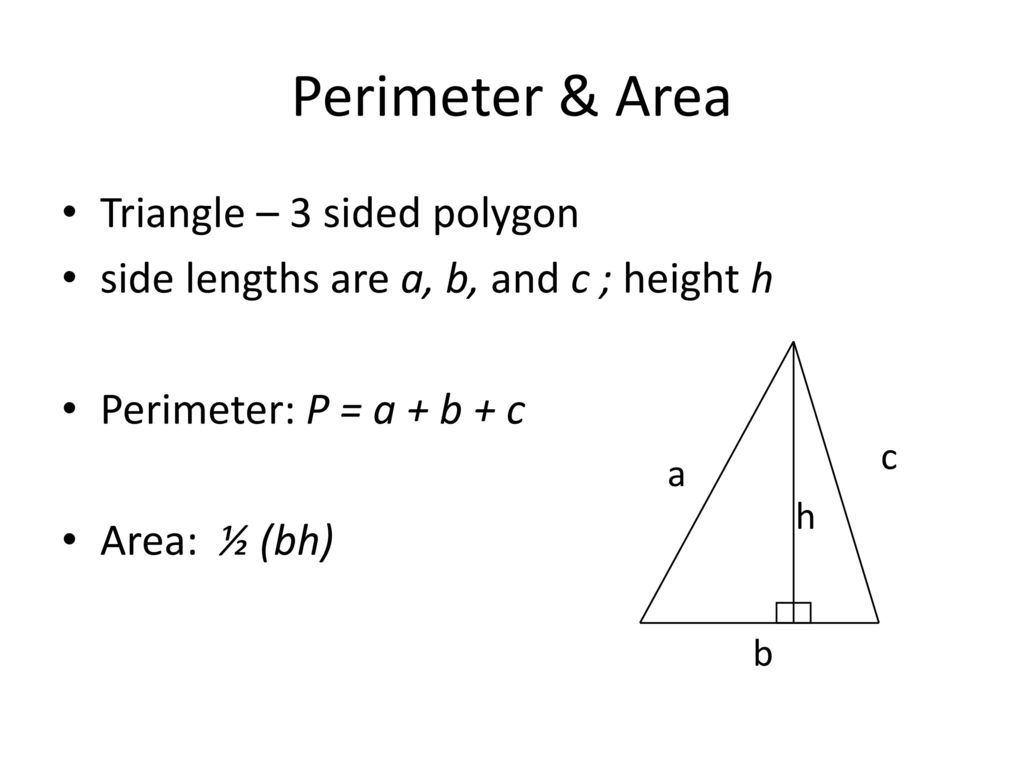 Triangle Area And Perimeter fractions worksheets 6th grade ...