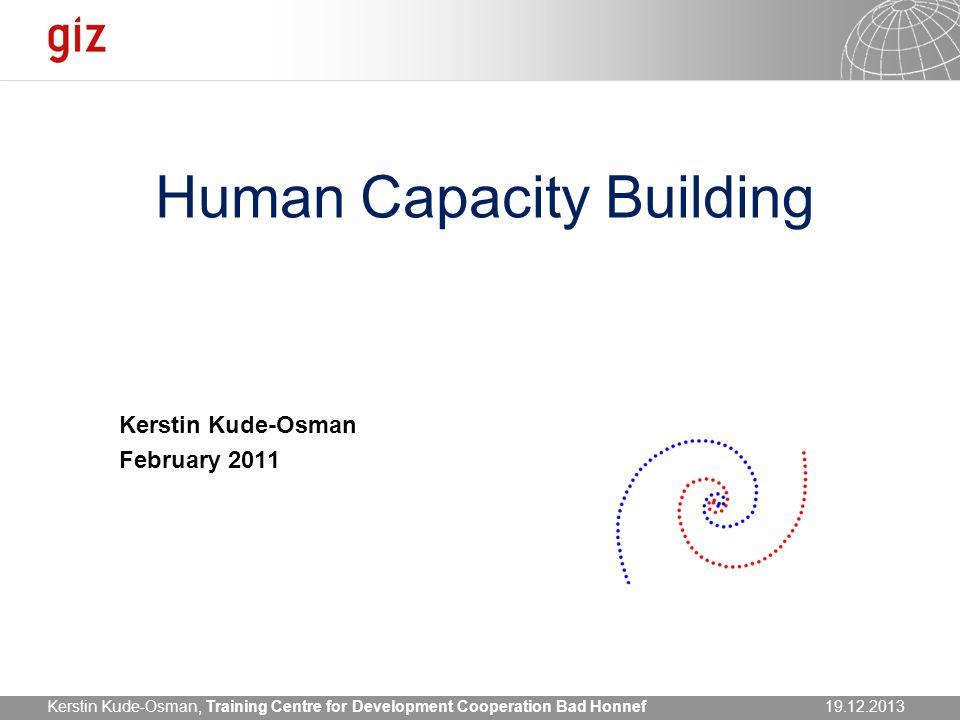 Human Capacity Building