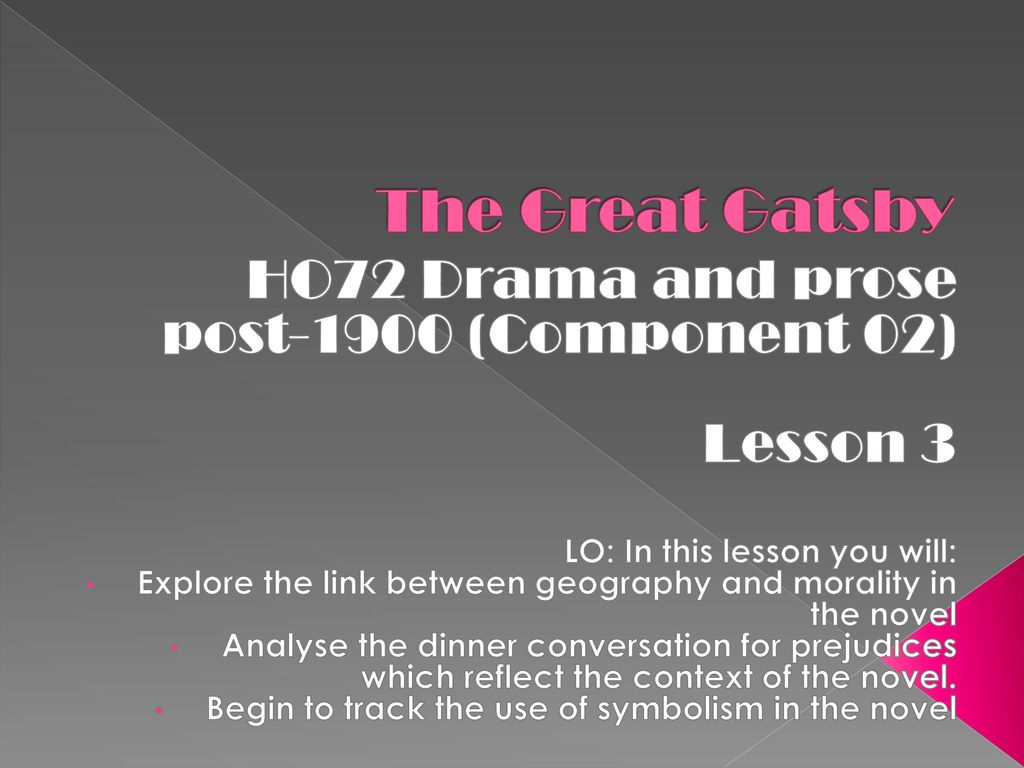 The great gatsby ho72 drama and prose post 1900 component 02 27 the biocorpaavc Choice Image