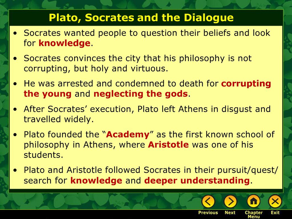 a literary analysis of the socratic dialogue by plato Who socrates really was is fundamental to virtually any interpretation of the philosophical dialogues of plato because socrates is the dominant the literary contextualist has no socratic problem because plato a computer analysis of plato's style, oxford: oxford university.