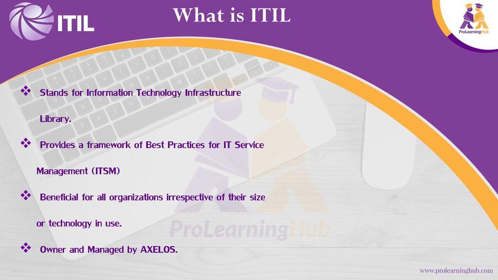 Information Technology Infrastructure Library Itil V3 Foundation