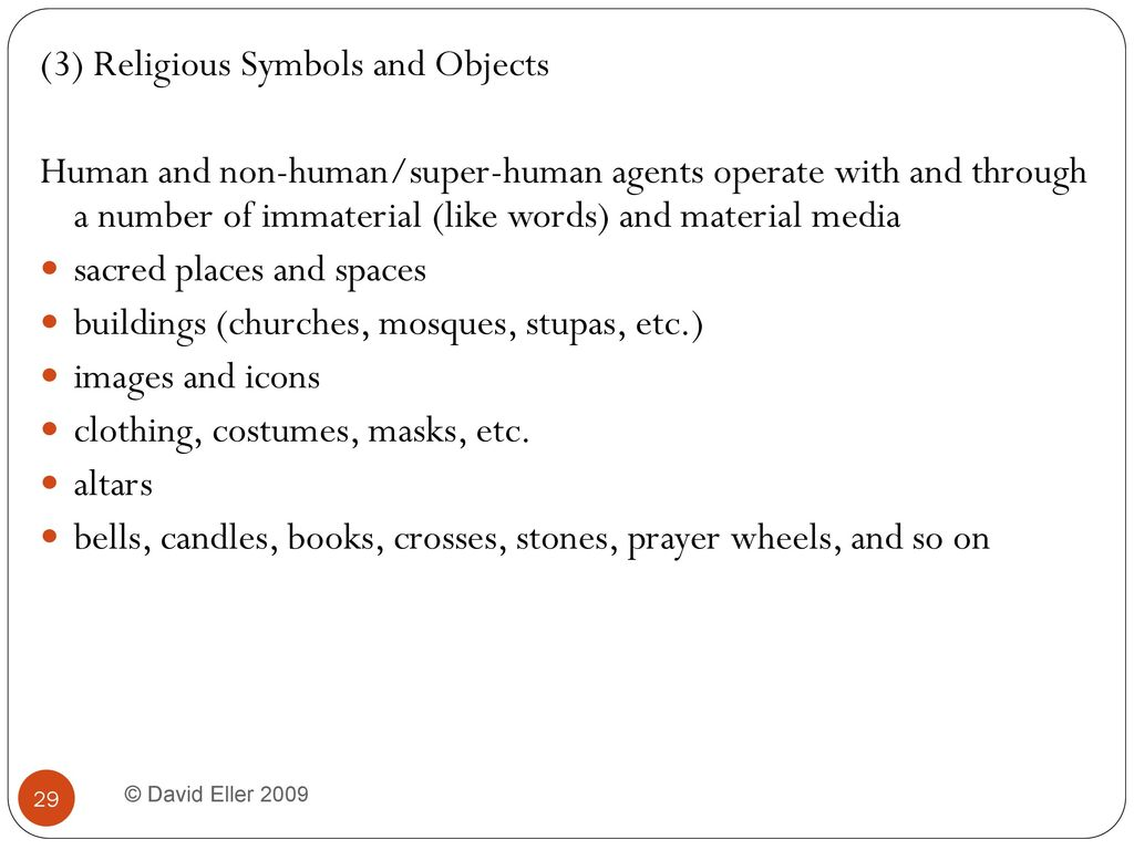 Chapter 10 religion interacting with the non human world ppt 3 religious symbols and objects buycottarizona