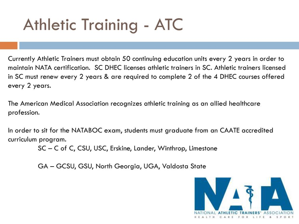Putting together a sports medicine team defining their roles athletic training atc 1betcityfo Choice Image