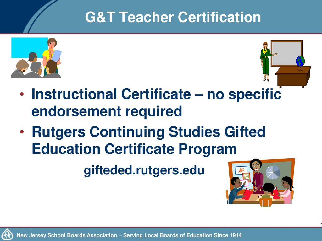 Every student succeeds act essa and gifted and talented gt teacher certification xflitez Images