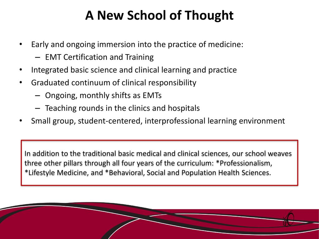 Welcome as a uscsomg clinical faculty member michael wiederman phd a new school of thought early and ongoing immersion into the practice of medicine emt 1betcityfo Gallery