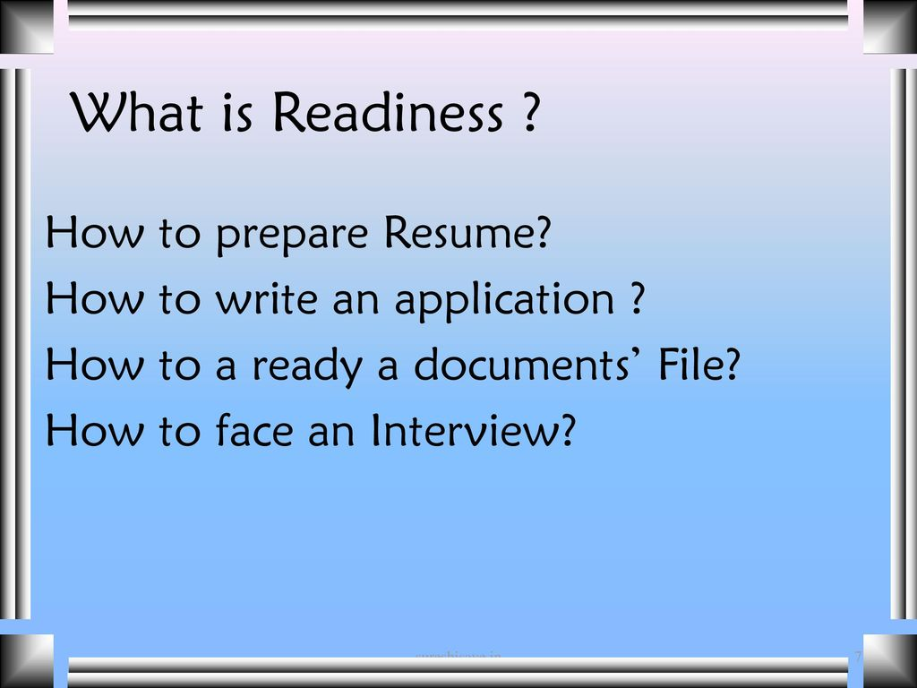 how to prepare a resume for an interview