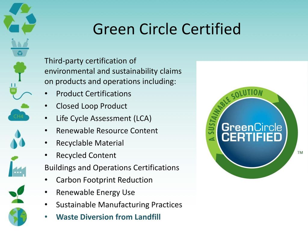 Rating system and certifications ppt download green circle certified 1betcityfo Choice Image