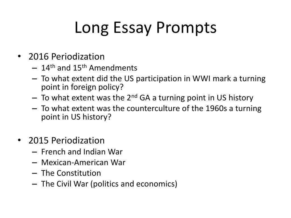 to what extent was 1549 a turning point essay Below is an essay on 1492 turning point from anti essays, your source for research papers, essays, and term paper examples the year 1492 was a major turning point in history for many different reasons.